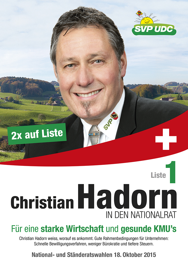 Christian Hadorn in den Nationalrat